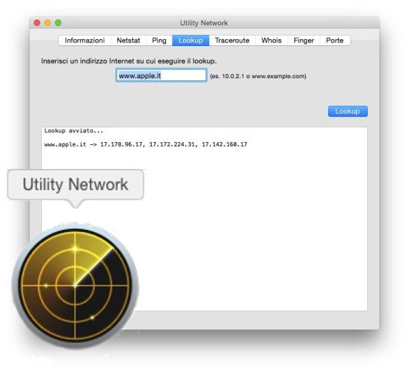 Cioè che fà per noi un DNS, spiegato tramite Utility Network