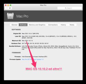 I Mac della primavera Intel possono utilizzare Mac OS Yosemite!